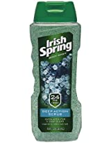 Irish Spring Body Wash, Deep Action Scrub, 6 Count