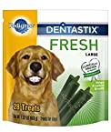 Pedigree Dentastix Fresh Oral Care Treats for Dogs, Large, 1.52-Pound