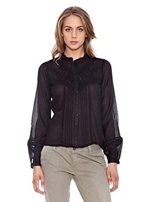 Pepe Jeans London Bluse Neilin (Schwarz)