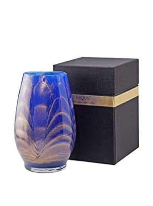 Northern Lights Candles Esque Candle & Floral Vase, Cobalt