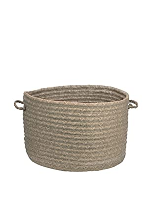 Colonial Mills Solid Fabric Print Basket (Bark)