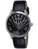 Emporio Armani Analog Black Dial Men's Watch - AR1611