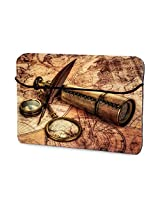 Retro Travel Gear 13 inches sleeves for Macbook