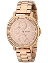 Fossil Chelsey Analog Pink Dial Women'S Watch -ES3720