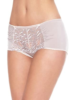 Playtex Culotte Embroidered Flowers