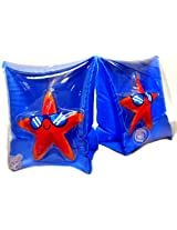 Play Day Ages 3 6 Cool Starfish Blue Armband Water Wings