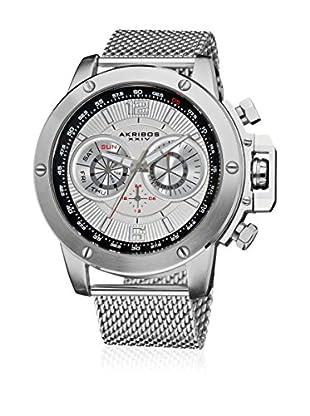 Akribos XXIV Reloj con movimiento cuarzo suizo Man AK515SSW 50 mm