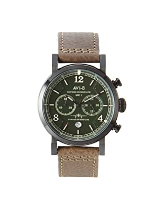 AVI-8 Men's 4015-04 Hawker Hurricane Green Stainless Steel Watch