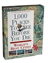 1000 Places To See Before You Die Puzzle - World's Best Cities