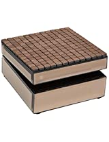Allure by Jay Tile Square Mirror Jewelry Box, Copper