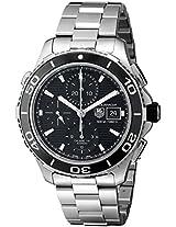 TAG Heuer Men's THCAK2110BA0833 Aqua Racer Analog Display Swiss Automatic Silver Watch