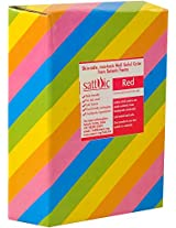 Sattvic Powder Non-Toxic Silky Holi Gulal Color (1 kg, Red)