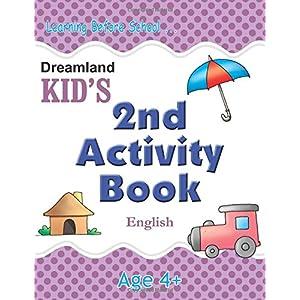 2nd Activity Book - English (Kid's Activity Books)