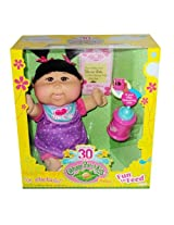 Cabbage Patch Kids Fun to Feed Asian Baby Girl; Brown Hair and Brown Eyes Celebrating 30 Years Doll