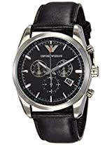 Emporio Armani Analog Black Dial Men's Watch - AR6039