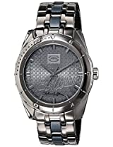 Marc Ecko Classic Analog Grey Dial Unisex Watch - E14542G1