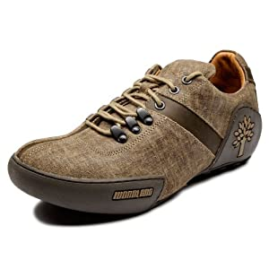Woodland Brown Men Pure Leather - Casual Shoes