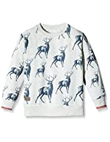 Blue Giraffe Boys' Sweatshirt