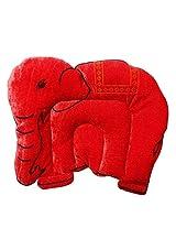 Wonderkids Baby Mustard(Rai) Pillow Elephant Shape Orange