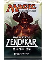 Magic: Battle For Zendikar: Korean Booster Pack