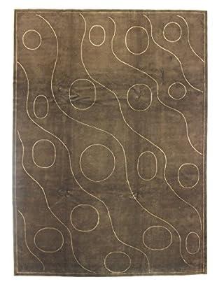 Bashian Kodari Rug, Mocha, 9' x 12'