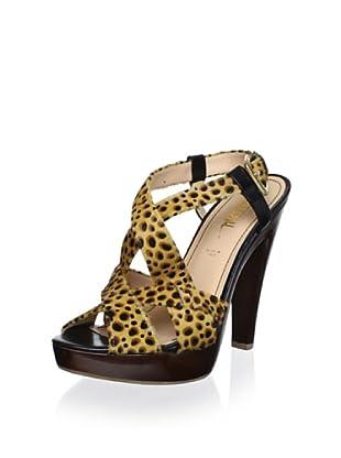 Jerome C. Rousseau Women's Mimosa Platform Sandal (Cheetah Print)
