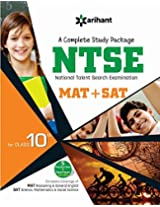 A Complete Study Guide NTSE (MAT + SAT) for Class 10th (Old Edition)