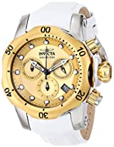 Invicta Women's 16090 Venom Analog Display Swiss Quartz White Watch
