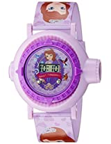 Disney Digital Multi-Colour Dial Girl's Watch - DW100482