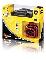 Bburago 1:36 IR Wrist Racer- Lamborghini Sesto Elemento, Grey