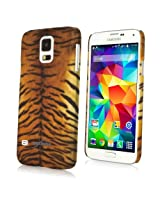 BoxWave Galaxy S5 Fierce Case - Fashionable Animal Print Protective Shell Case for the Galaxy S5 in Tiger or Leopard...