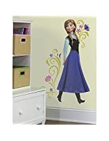 Roommates Frozen Anna Giant Wall Decals (Multi-Color)