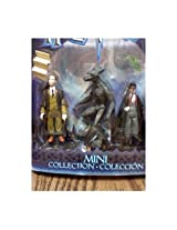 Harry Potter and the Prisoner of Azkaban Mini Collection - Professor Remus Lupin Werewolf and Harry Potter Action Figures From the Novel