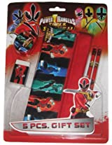 Power Rangers Stationery Set - Design 1, Multi Color (5 Piece)