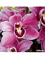 2012 Orchids Grid Calendar