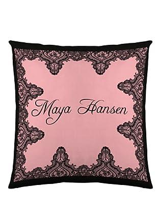 Maya Hansen Funda De Cojín Boudouir 4 (Rosa / Negro)