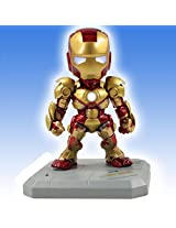 6-INCH SUPER-DEFORMED IRON MAN MARK XLII Action Figure w/LED Light-Up Feature