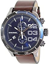 Diesel End-of-season  Chronograph Blue Dial Men's Watch - DZ4312
