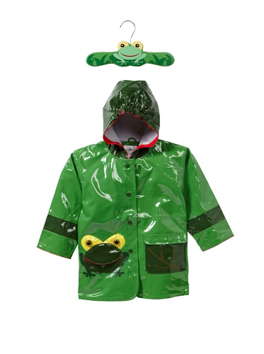Kidorable Frog Raincoat (Green)