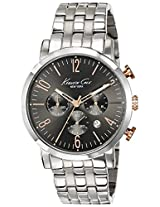 Kenneth Cole Dress Sport Analog Grey Dial Men'S Watch - 10020828