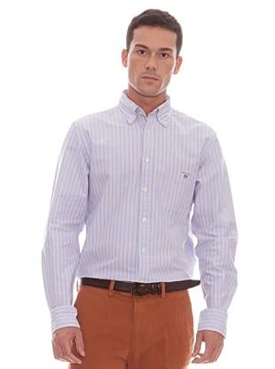 Gant Camisa Rayas (rojo / azul)