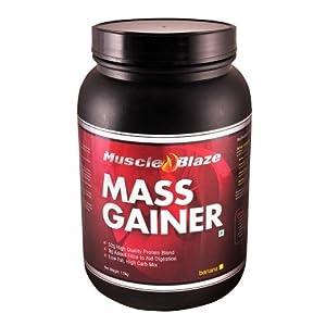 MuscleBlaze Mass Gainer, Banana Old 3.3 lb