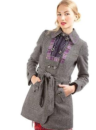 Custo Abrigo (negro / gris)