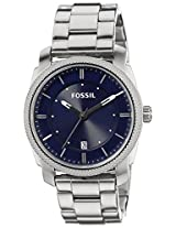 Fossil Machine Analog Blue Dial Men's Watch - FS4794I