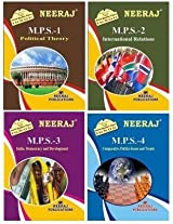 IGNOU MA Political Science First Year Help Books Combo-MPS1 | MPS2 | MPS3 |MPS4 in English Medium