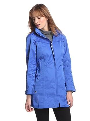 Rainforest Outerwear Women's Packable Travel Raincoat (Electra)
