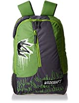 Wildcraft Stinger Polyester 16 Ltrs Green Kids Bag (5-8 years age)