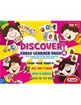 Frank Discover Early Learner Pack 4, Multi Color