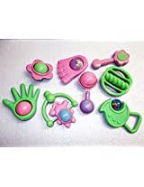 Baby rattle set (8 accessories)