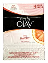 OlaySimply Awake Rich Lather Pink Grapefruit Soap Bars ( Pack of 4 ) 4*90g
